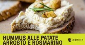 humus di patate arrosto e rosmarino