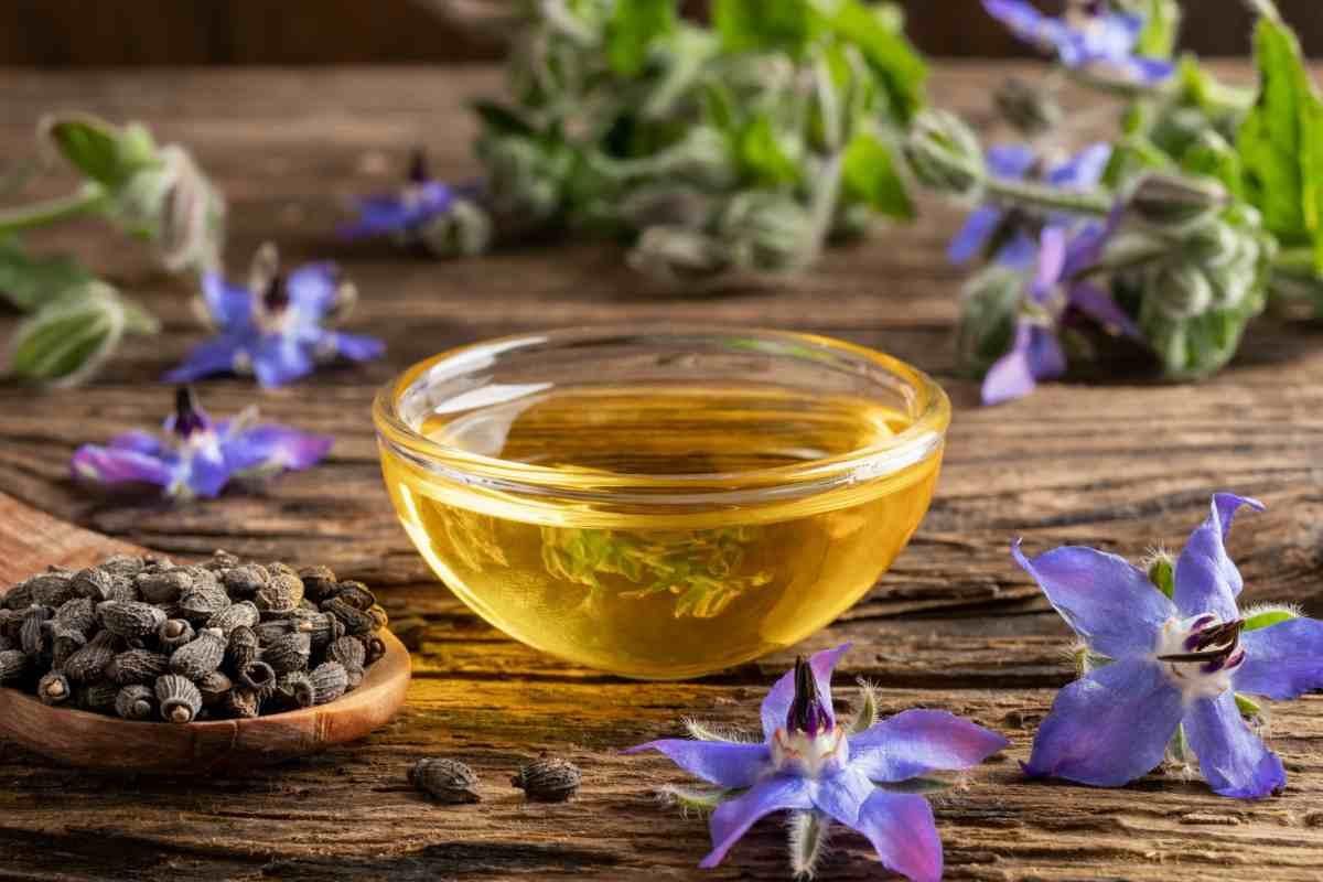 Olio di Borragine rimedio naturale anti età per la pelle