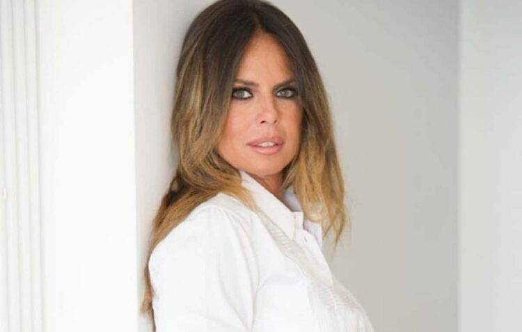 Paola Perego positiva al COVID-19 (Getty Images)