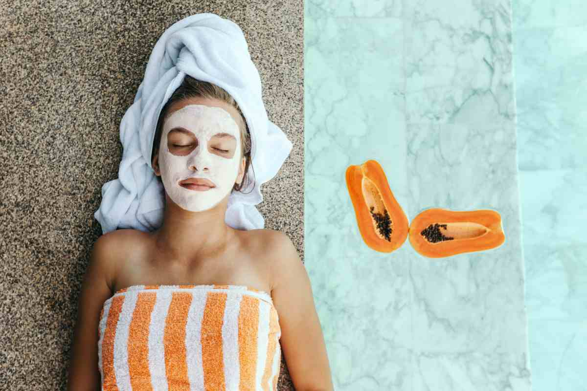 La Papaya alleata per la bellezza della pelle
