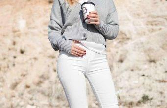 primavera pantaloni bianchi