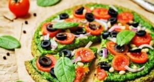 Pizza leggera SENZA farina | Sazia con sole 100 calorie!