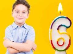 bambino 6 anni