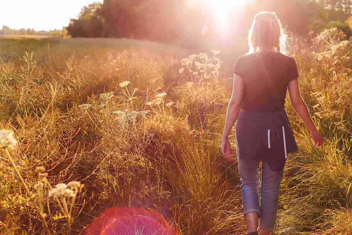 camminare passeggiare benefici