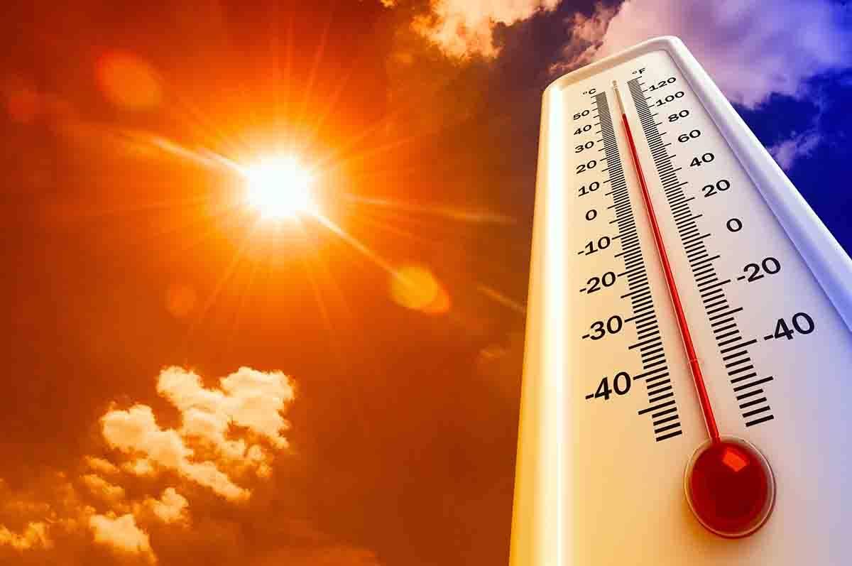 caldo, termometro