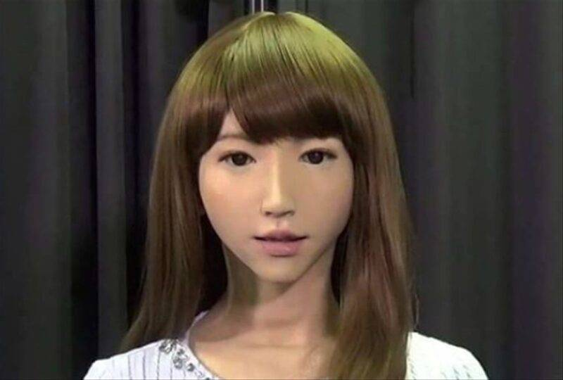 Attrice robot giappone