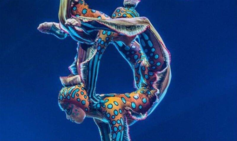 Cirque Du Soleil contorsionisti