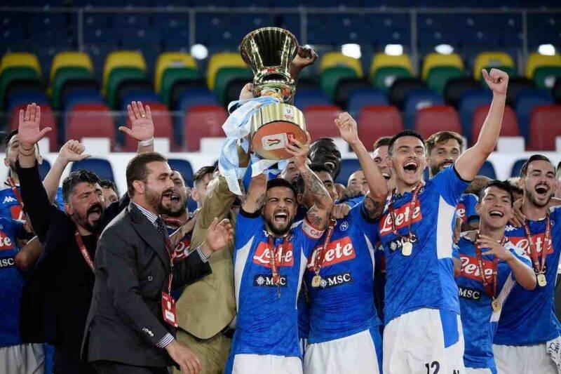 Il Napoli di Gennaro Gattuso vince la Coppa Italia (Getty Images)
