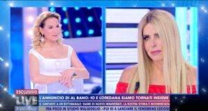 Loredana Lecciso a Live Non è la d'Urso
