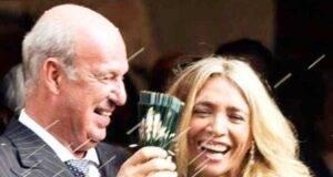 Mara Venier e Nicola Carraro anniversario