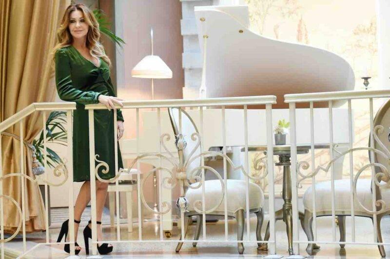 Paola Ferrari, virus influenzale preso in aereo (Getty Images)