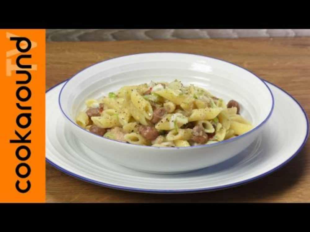 Pasta fagioli tonno e cipollotto