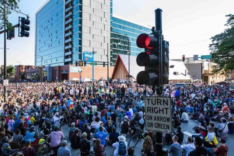 Proseguono le proteste negli USA (Getty Images)