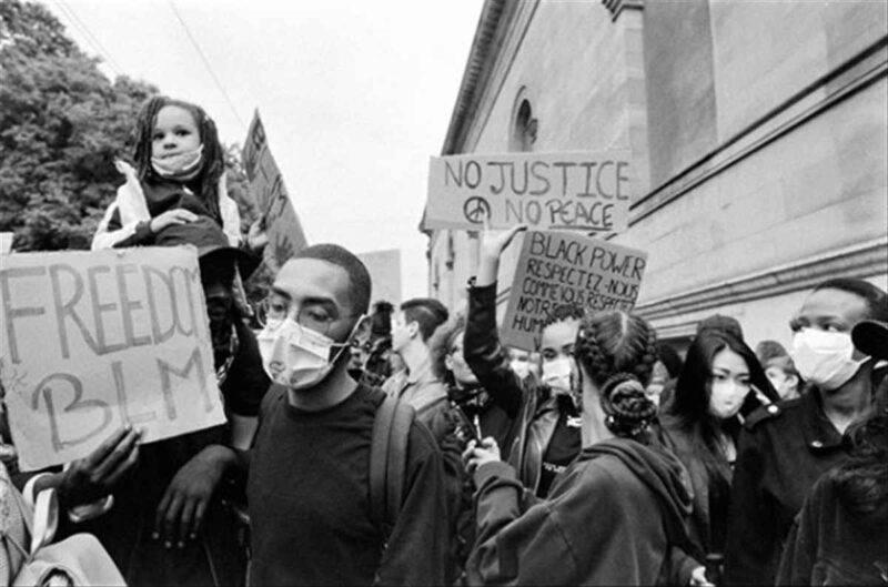 Proteste per George Floyd