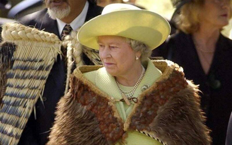 Regina Elisabetta in Nuova Zelanda