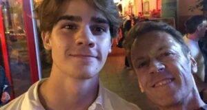 Rocco Siffredi e suo figlio