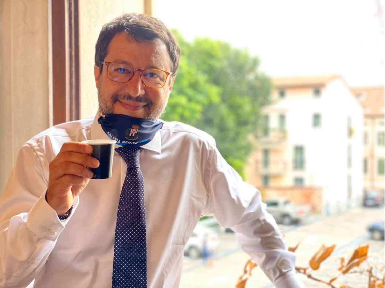 Matteo Salvini coronavirus