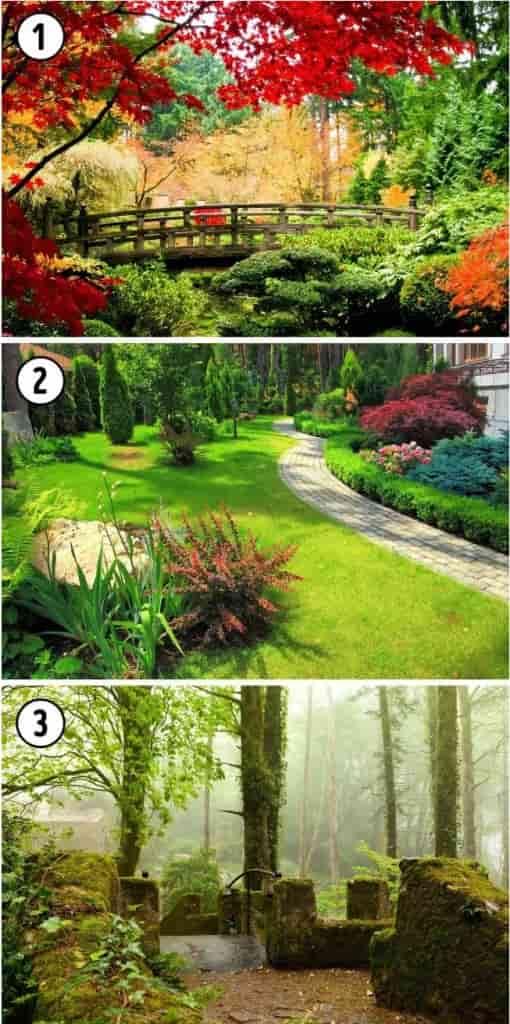 test giardino castello