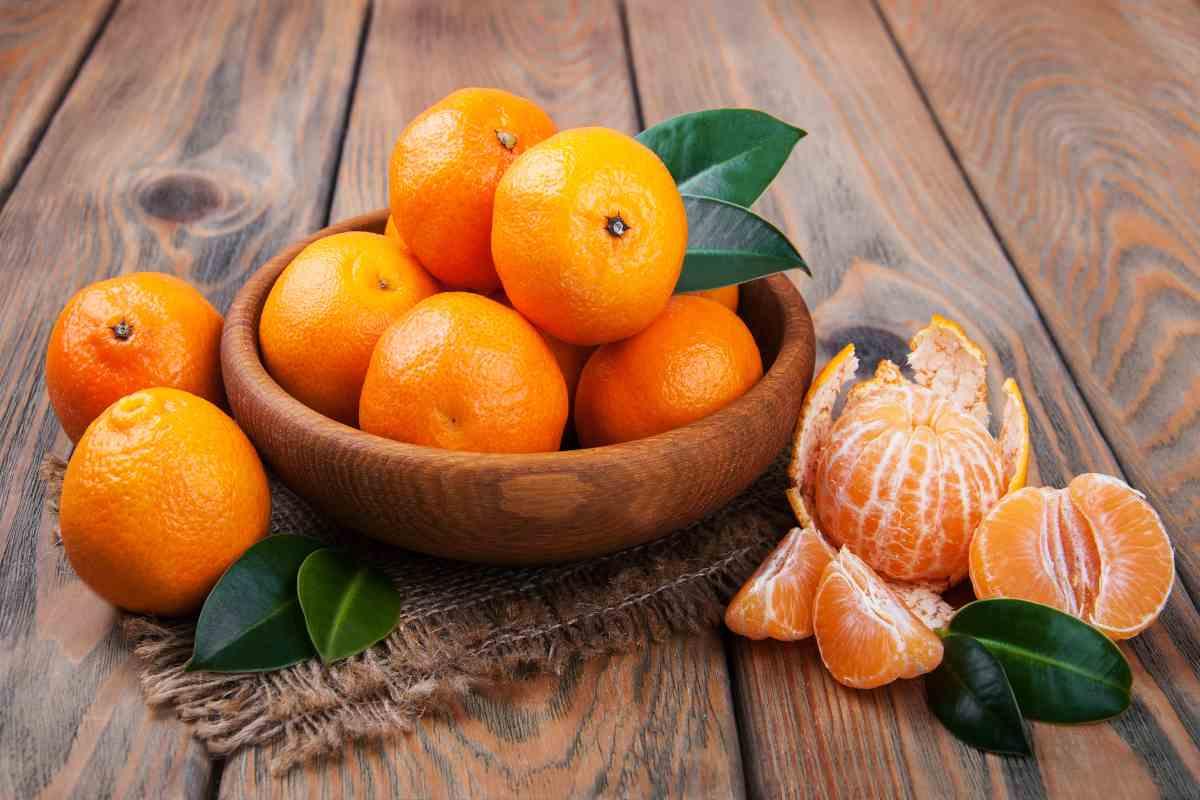 Arance e mandarini