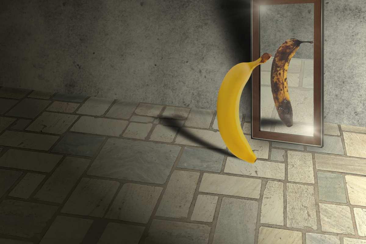 banana allo specchio
