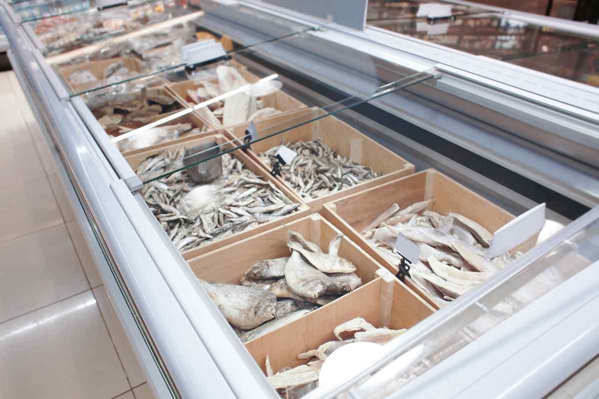 Banco pesce congelato