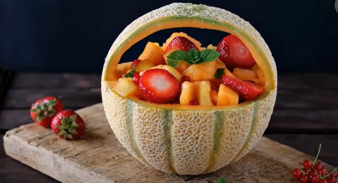 cestino di melone macedonia