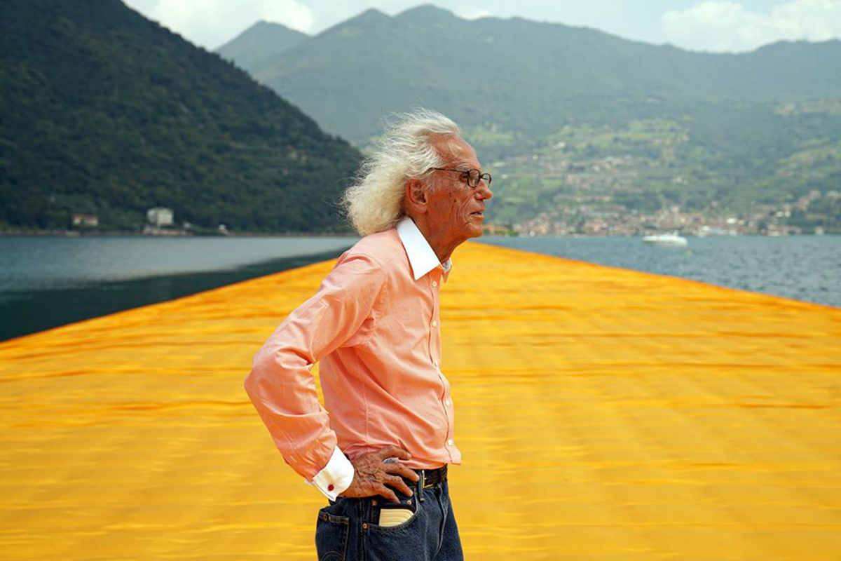 È morto Christo, l'artista di 'The Floating Piers'