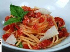 primo piatto spaghetti alla carrettiera