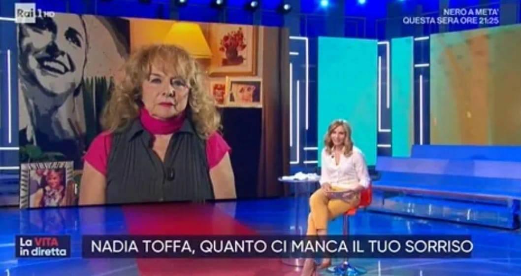 Nadia Toffa | lo straordinario ricordo della madre