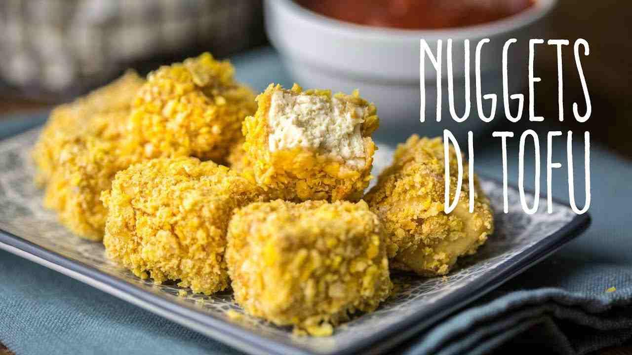 ricetta vegana nuggets di tofu