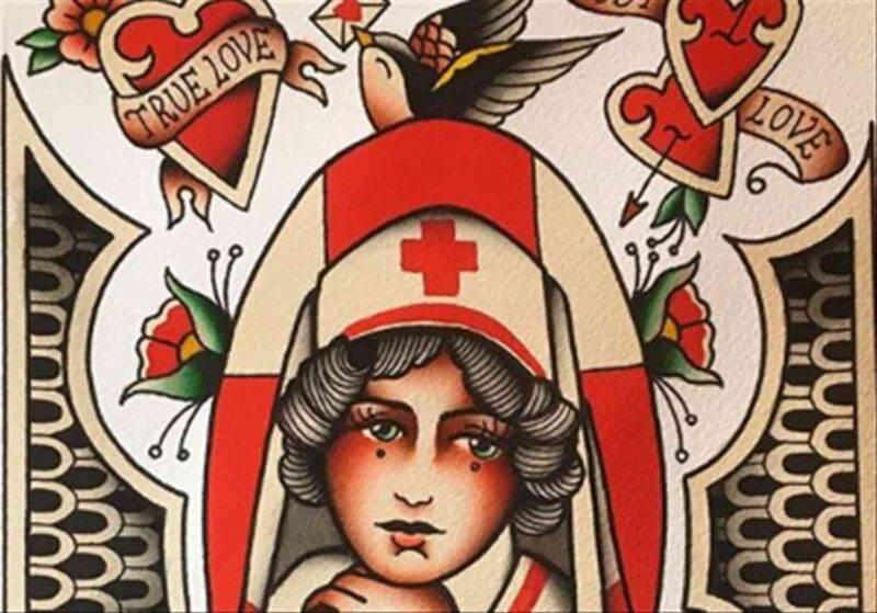 tatuaggio infermiera