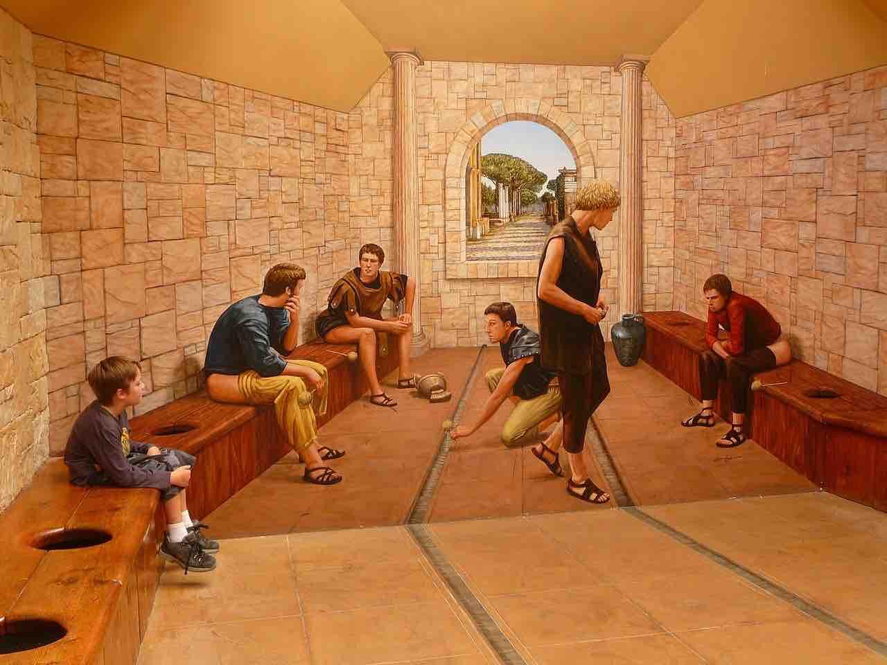 bagni antica roma