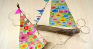 Fai da te barche a vela con i legnetti di mare