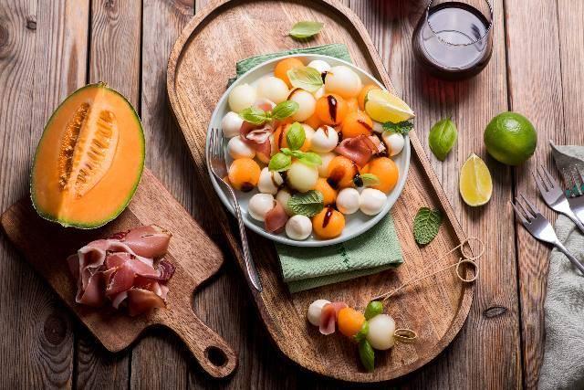 Dieta con il melone e combatti la ritenzione idrica