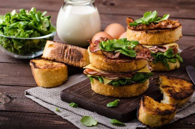 Il re dei panini: panino con la frittata