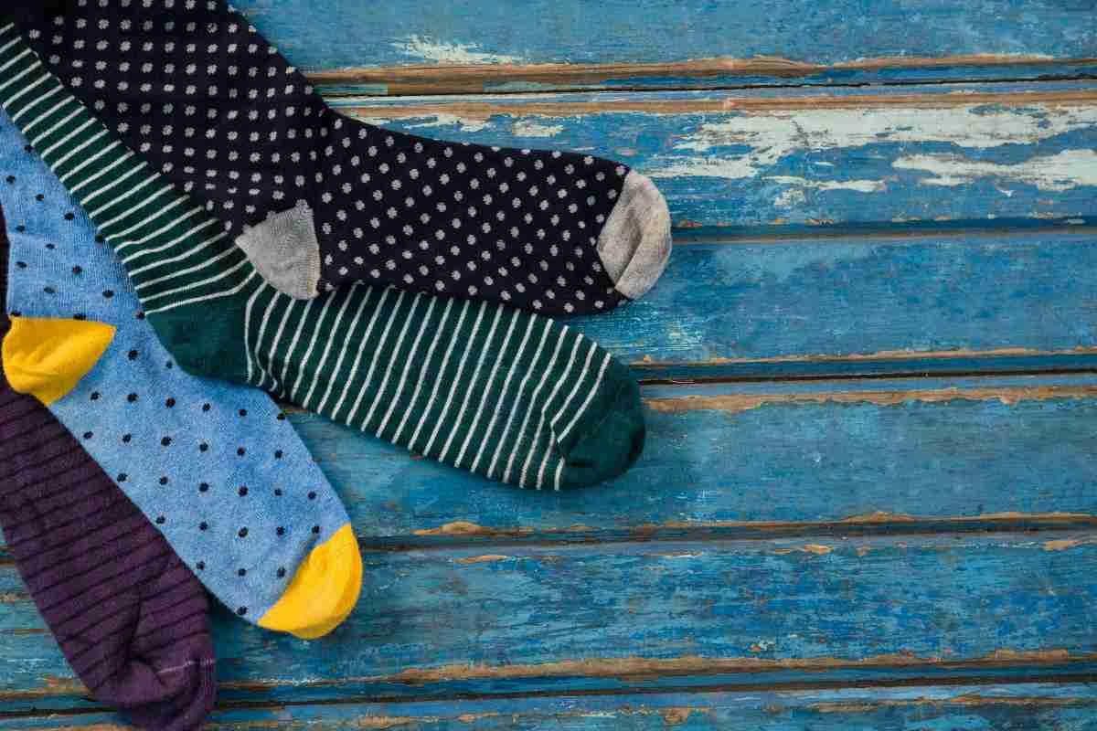 uso alternativo dei calzini