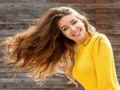 soluzione acida per capelli