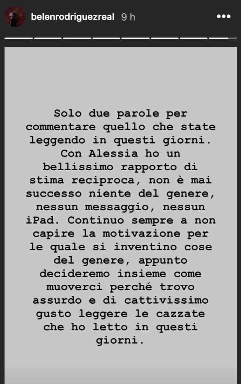 Belen instagram marcuzzi
