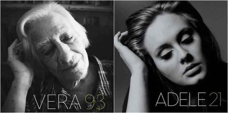 Da Adele a David Bowie, gli anziani come i loro idoli (Twitter)