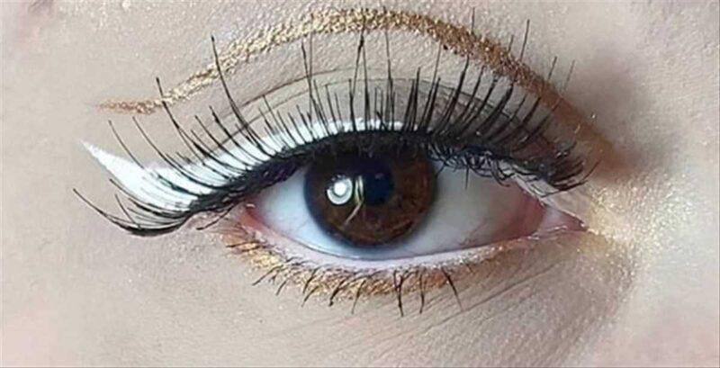 Eye liner dorato