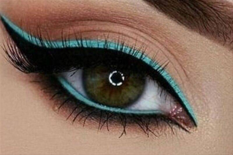Eyeliner colorato