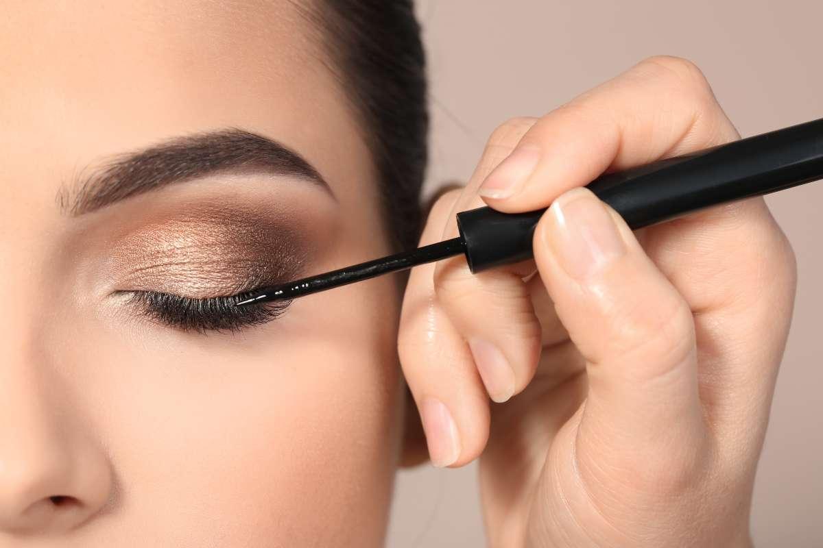 Errori applicazione eyeliner