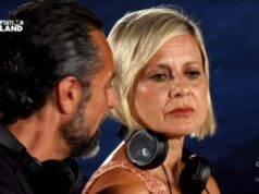 Antonella Elia perdona Pietro Delle Piane