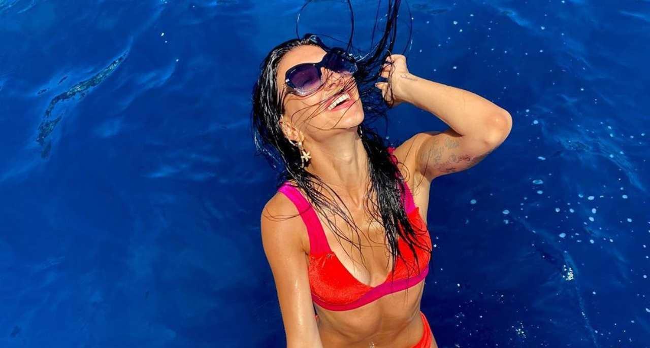 Giovanna Abate a Capri