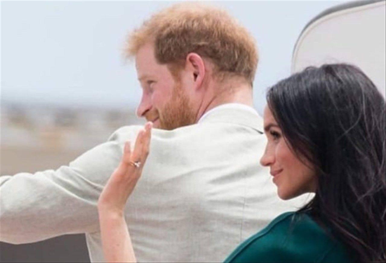 Harry e Meghan paparazzi
