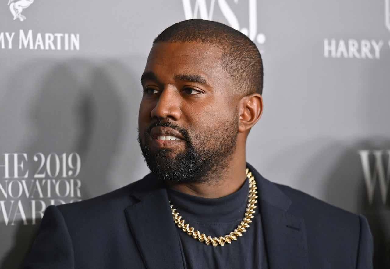 Kanye West, ennesima trovata eccentrica del rapper (Getty Images)