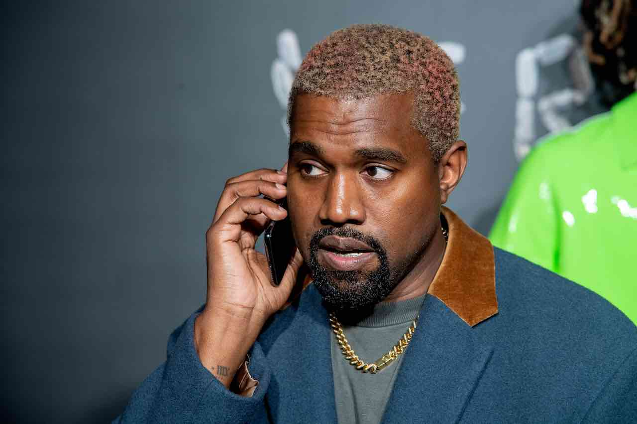 Kanye West contro l'industria discografica americana (Getty Images)