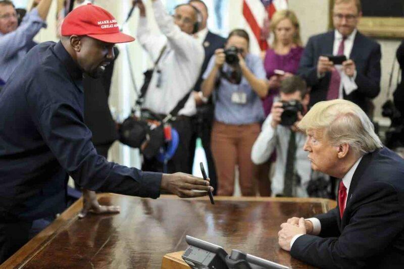 Kanye West smentisce il proprio ritiro dalla politica con un comizio (Getty Images)