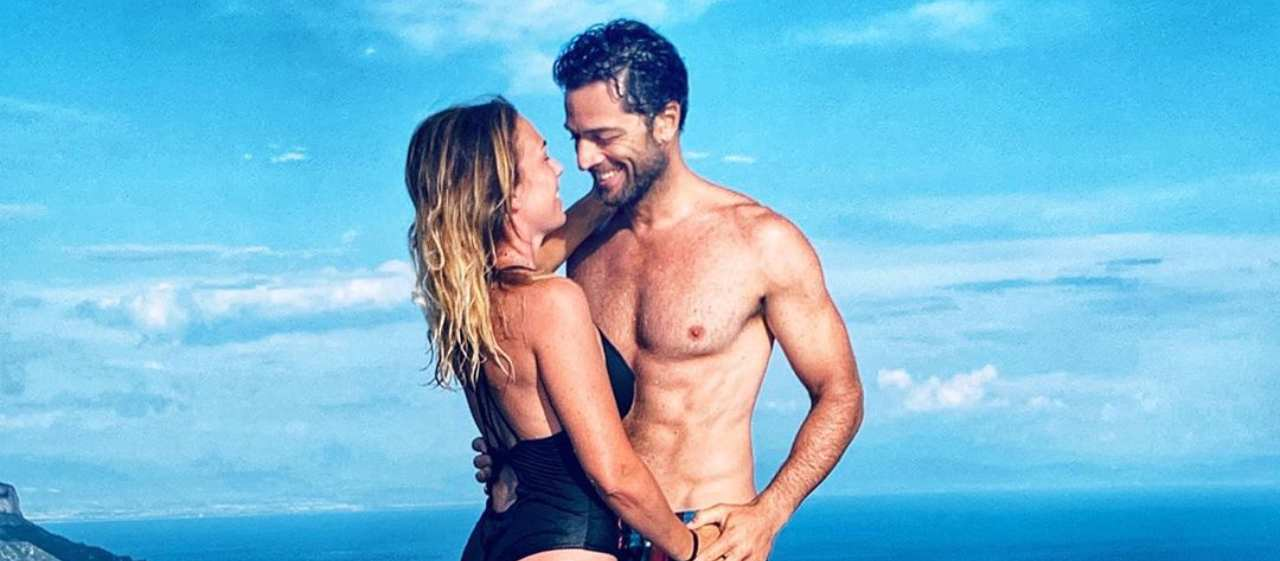 Luca Capuano e sua moglie