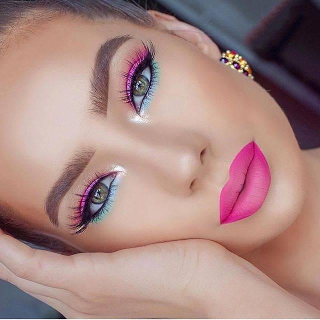 makeup occhi rosa consigli